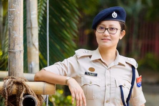 Manipur police officer Thonaujam Brinda.