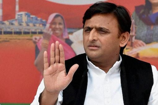 File photo of Samajwadi Party president Akhilesh Yadav.