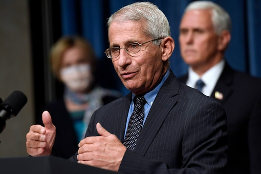 File photo of director of the National Institute of Allergy and Infectious Diseases Dr. Anthony Fauci. (AP)