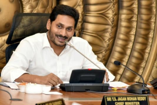 A file photo of Andhra Pradesh CM Jagan Mohan Reddy. (Image: PTI)
