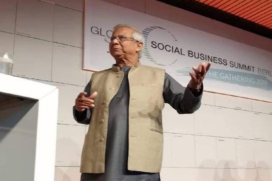 File photo of Nobel Peace Prize Winner Muhammad Yunus (Image Credit: Twitter/ @Yunus_Centre)