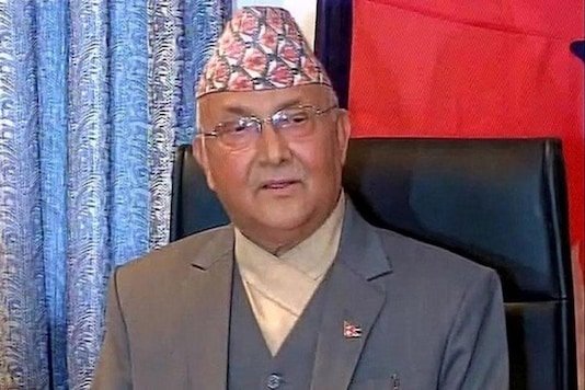 File photo of Nepal Prime Minister KP Sharma Oli.