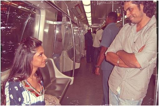 Deepika Padukone and Imtiaz Ali
