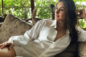 Kareena Wears Hubby Saif Ali Khan's Shirt For Filmfare Cover