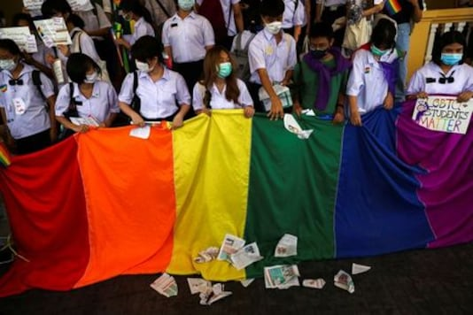 Thai students rally over gender rights, uniforms and haircut rules
