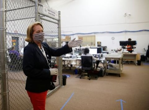 Local U.S. election officials fight disinformation 'virus', whether from overseas or Trump
