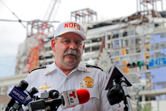 Attorney: 1 victim may be removed from Hard Rock rubble soon