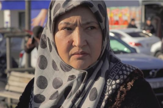 Uyghur exile Gulbakhar Jalilova says she suffered sexual abuse while she was held in detention centers in Xinjiang. (CNN)