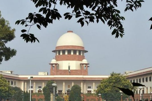 File photo of The Supreme Court of India. (Image Credit: PTI)