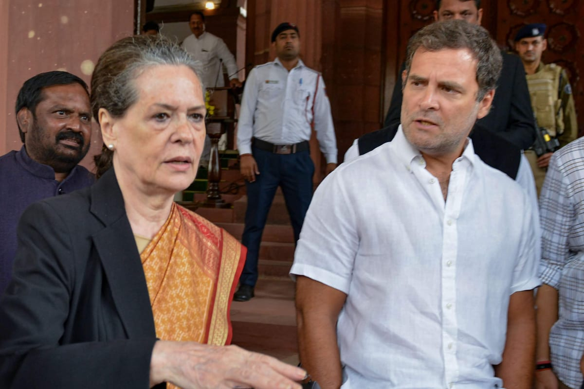 Active & Full-time Leadership, CWC Polls: Congress Leaders Write to Sonia Gandhi for Reforms in Party
