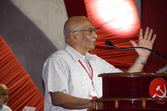 CPI(M)'s politburo member S Ramachandran Pillai. (Credit: twitter)