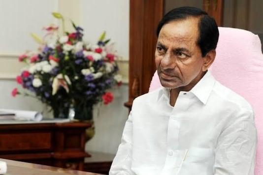 File photo of Telangana CM and TRS president K Chandrashekar Rao.