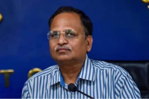 Delhi Health Minister Satyendar Jain (File photo/PTI)