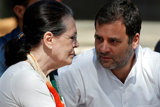 File photo of Sonia Gandhi with Rahul Gandhi. (Reuters)