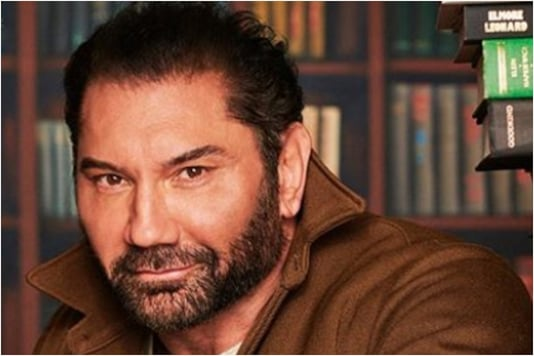 Hollywood actor Dave Bautista