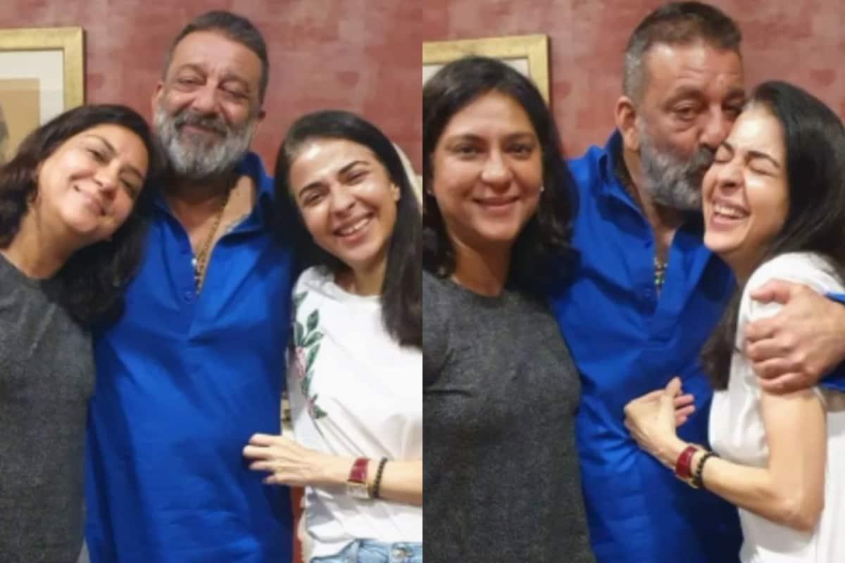 Sanjay Dutt Celebrates Raksha Bandhan With His Sisters ...