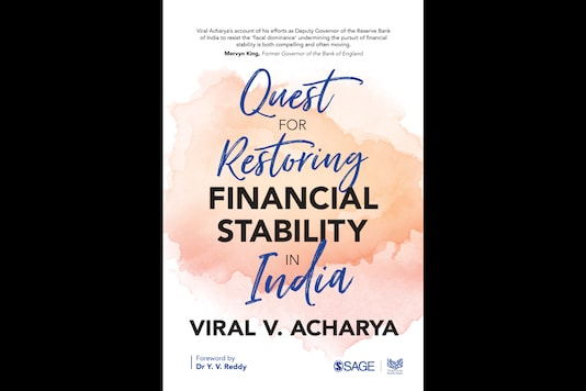 The cover of Viral Acharya's book.