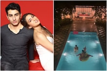 Sara Ali Khan's Happy Rakhi Post has Brother Ibrahim Toppling Her Into the Pool