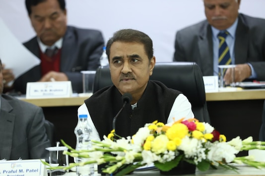 File photo of NCP leader Praful Patel.