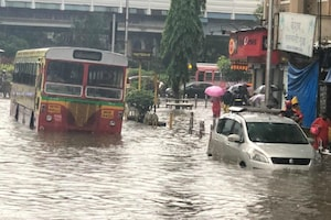 Incessant Rains Lash Mumbai: Bus & Train Services Hit