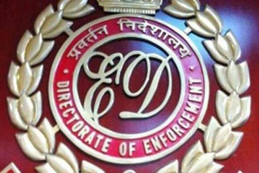 ED has seized 17 hard disks, five laptops, phones, crucial incriminating documents along with the money. (ED logo for representation)