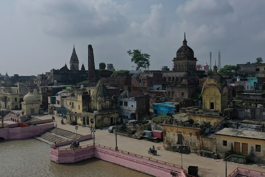 The disputed site in temple town Ayodhya was handed over to the Hindu side