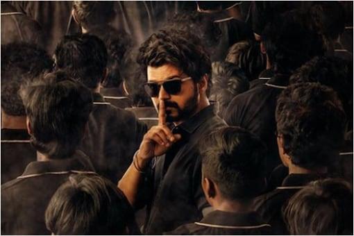 'Master' poster featuring Vijay