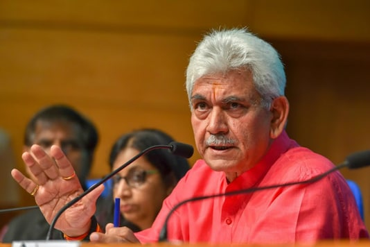 File photo of J&K L-G Designate Manoj Sinha (PTI)