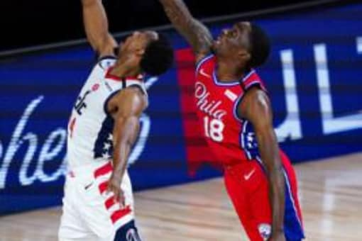 Philadelphia 76ers and Washington Wizards (Photo Credit: Reuters)