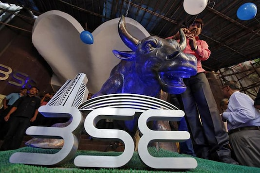 After rallying 359 points during the day, the 30-share BSE index ended 214.33 points. (Image for Representation)