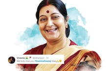 Heartfelt Tributes Pour for Sushma Swaraj as Twitter Remembers Her on First Death Anniversary
