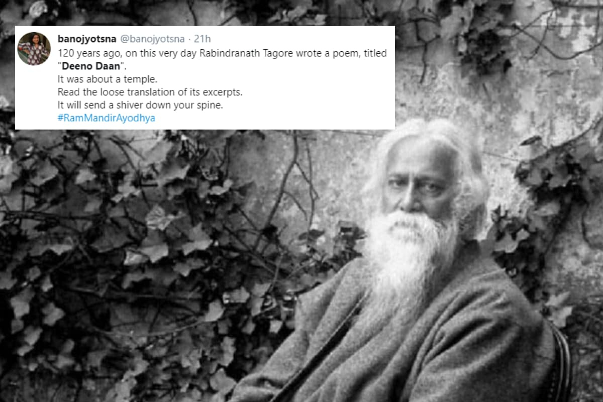 'There is No God in the Temple': Rabindranath Tagore's Poem 'Deeno Daan' Goes Viral a Century Later