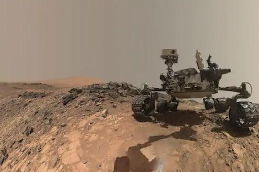 File photo of NASA's Mars Curiosity Rover