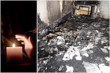 UK Man's Romantic Proposal Went up in Smoke as Candles He Lit to Set Mood Burnt His House Down
