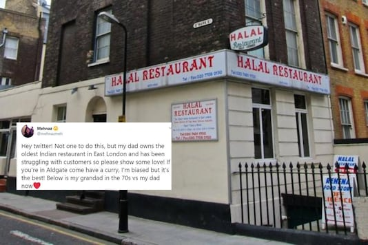 East London's Oldest Indian Restaurant is Bouncing Back to Life. Thanks to Granddaughter's Tweet