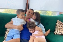 Cristiano Ronaldo is 'Feeling Loved' in New Picture With His Children