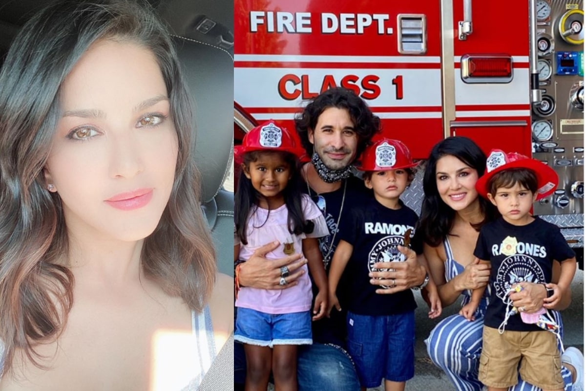 Sunny Leone Shares Pic of 'Another Day in Covid Paradise'