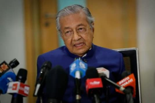 A file photo of Mahathir bin Mohamad. (Reuters)