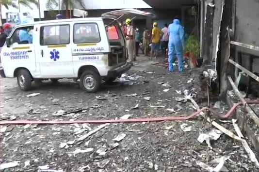 The fire officials reached the spot but the victim had already succumbed to her injuries.
