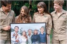 Steve Irwin's Daughter Bindi Shares Moving Artwork Reimagining Wedding Day with Dad