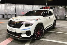 The Already-Sporty Kia Seltos Has been Customised to Look Even Sportier and the Results are Stunning