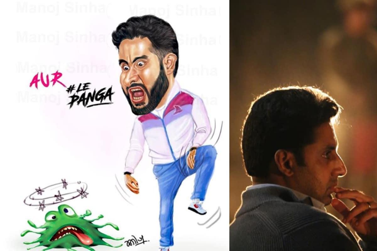 Abhishek Bachchan 'Beats' Coronavirus, Quite Literally, in This Fan Art