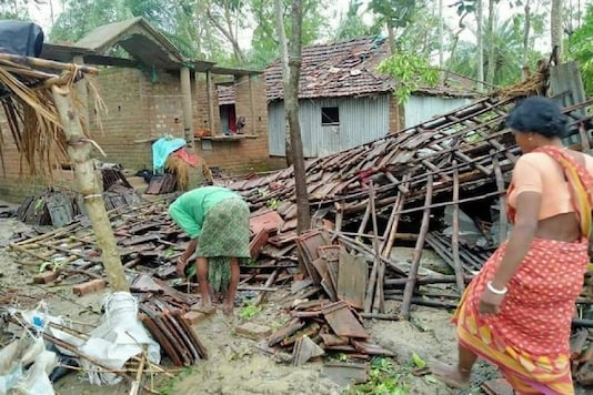 The cyclone had wreaked havoc in the coastal districts of Bengal.