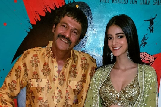 Chunky Panday and Ananya Panday