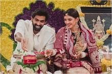 Newlyweds Rana Daggubati, Miheeka Bajaj Host Puja at Home, See Pic