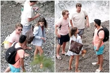 Emilia Clarke is Chilling with Friends in Italy While We're Crying Over Covid-19