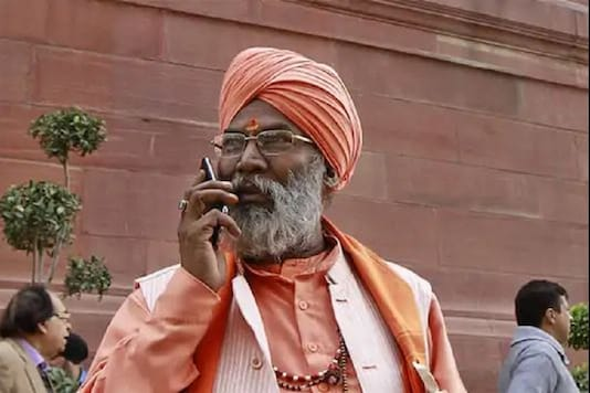 File photo of BJP MP Sakshi Maharaj.