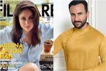 Saif Ali Khan Clicks Kareena Kapoor's Magazine Cover Shot as She Completes 20 Years in Film Industry