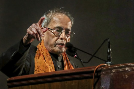File photo of former President Pranab Mukherjee.