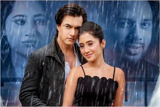 'Baarish' poster, featuring Shivangi Joshi and Mohsin Khan